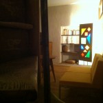 Le salon attenant à la chambre