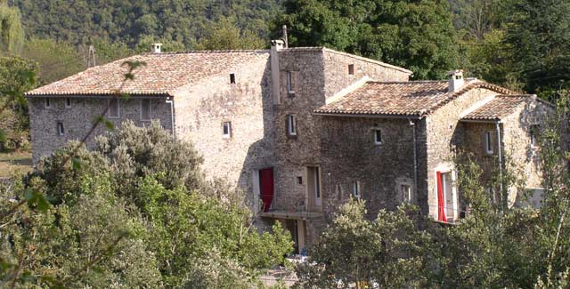 The Akwaaba holiday cottage is nestled in the Cévennes mountains
