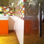 L'entrée de la salle de bain